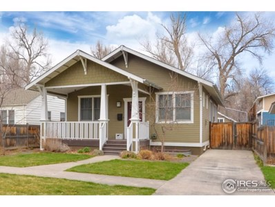412 E Pitkin St, Fort Collins, CO 80524 - MLS#: 845261