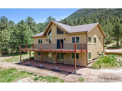 257 Estes Park Estates Dr, Lyons, CO 80540 - MLS#: 848373