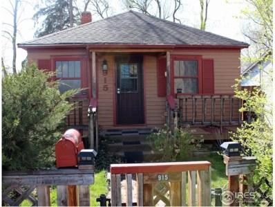 915 Terry St, Longmont, CO 80501 - MLS#: 848506