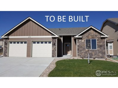 474 Castle Pines Ave, Johnstown, CO 80534 - MLS#: 848953