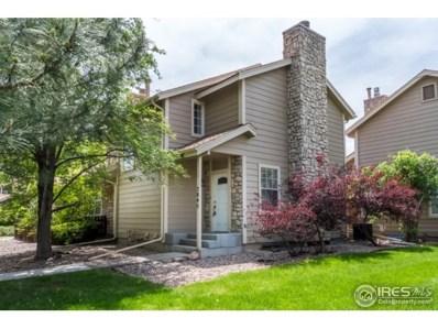 3845 Paseo Del Prado, Boulder, CO 80301 - MLS#: 851029