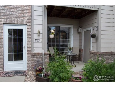 5151 29th St UNIT 1103, Greeley, CO 80634 - MLS#: 851753