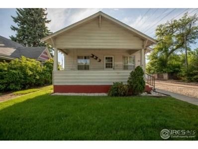 1022 Cleveland Ave, Loveland, CO 80537 - MLS#: 853246