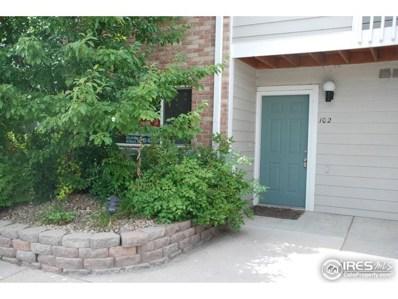 2850 Aurora Ave UNIT 102, Boulder, CO 80303 - MLS#: 853925