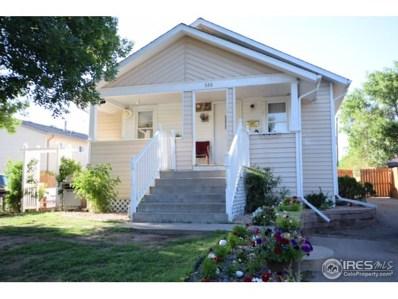 520 Elizabeth Ave, Platteville, CO 80651 - MLS#: 855124