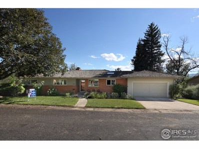 1111 Ridgelawn Dr, Fort Collins, CO 80521 - MLS#: 857859