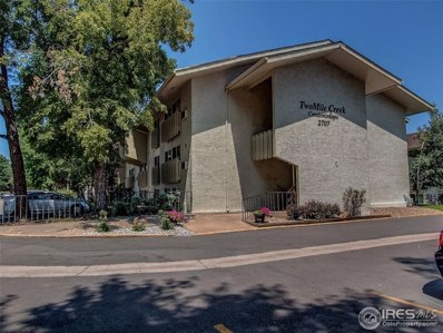 2707 Valmont Rd UNIT 105A, Boulder, CO 80304 - MLS#: 858779