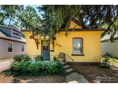 534 E 8th St, Loveland, CO 80537 - MLS#: 861083