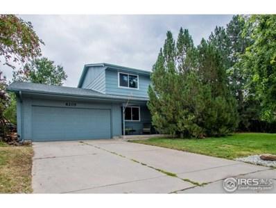 8205 Kincross Dr, Boulder, CO 80301 - MLS#: 861257