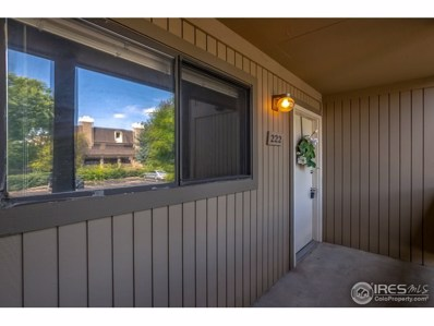 710 City Park Ave UNIT 222, Fort Collins, CO 80521 - MLS#: 861785