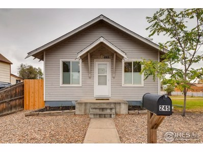 245 2nd St, Fort Lupton, CO 80621 - MLS#: 864301