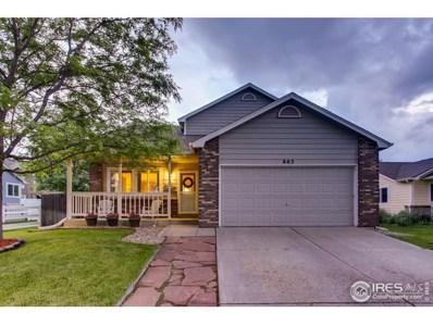863 Eagle Drive, Loveland, CO 80537 - #: 885678