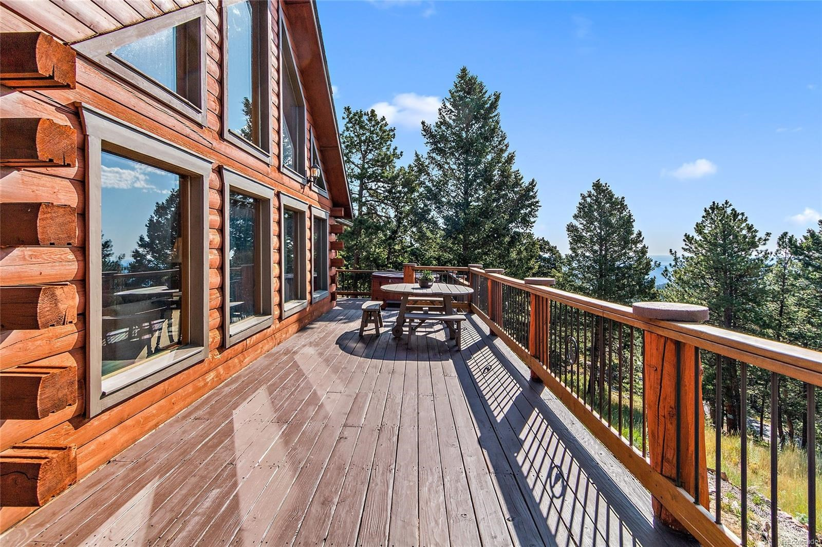 MLS# 1581293 - 32 - 13472 Riley Peak Road, Conifer, CO 80433