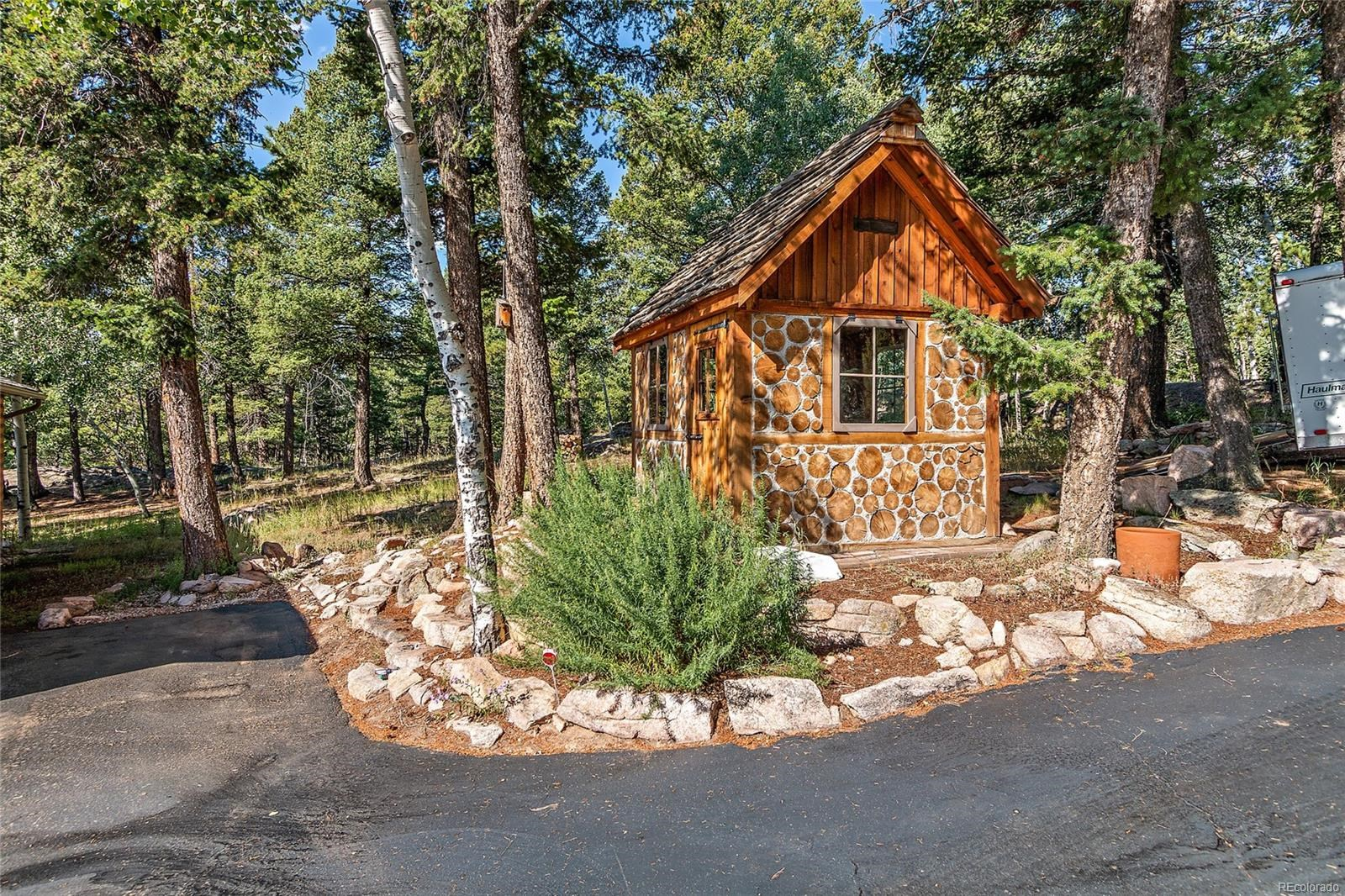 MLS# 1581293 - 13472 Riley Peak Road, Conifer, CO 80433