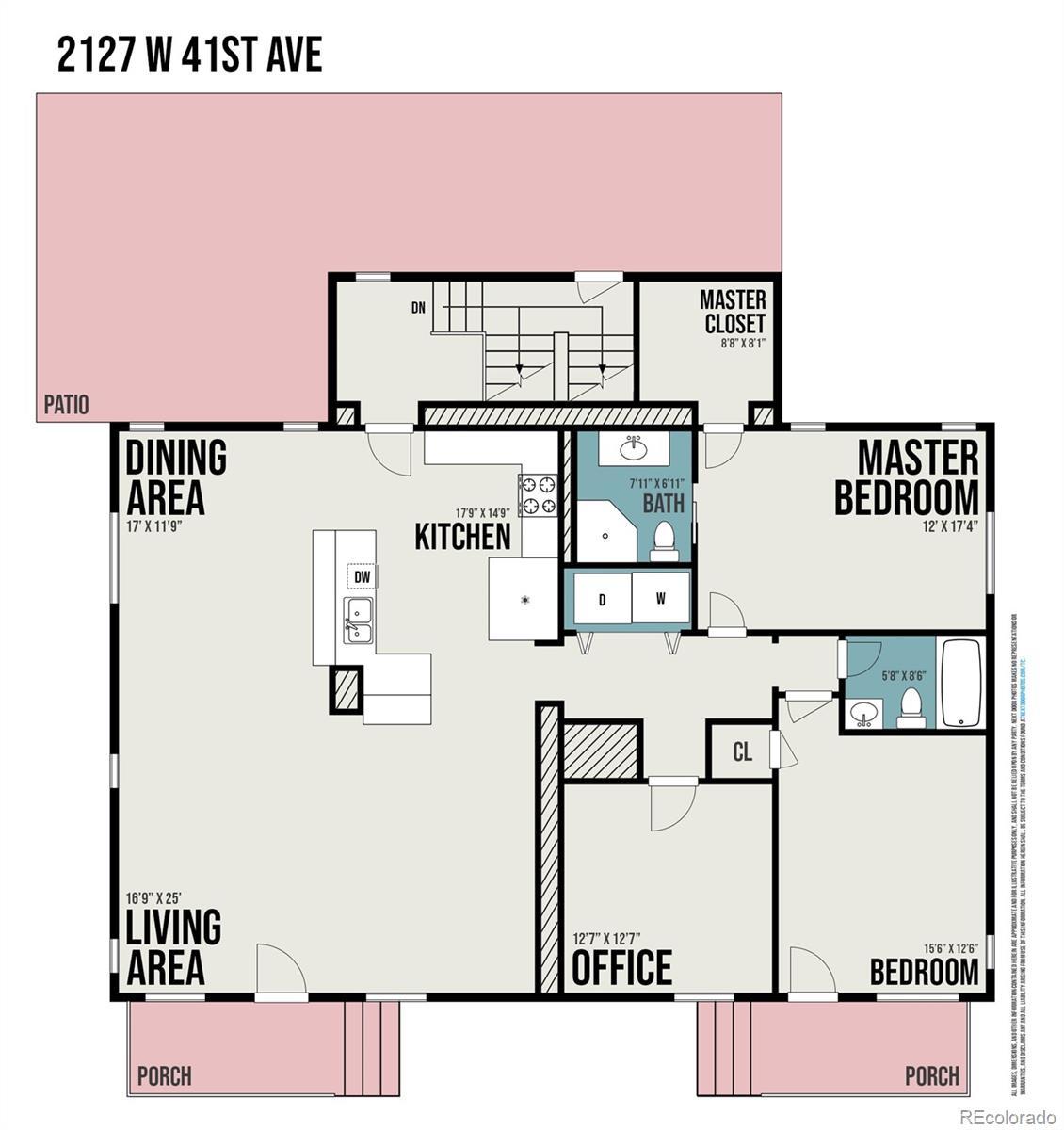 MLS# 1834846 - 19 - 2127 W 41st Avenue, Denver, CO 80211