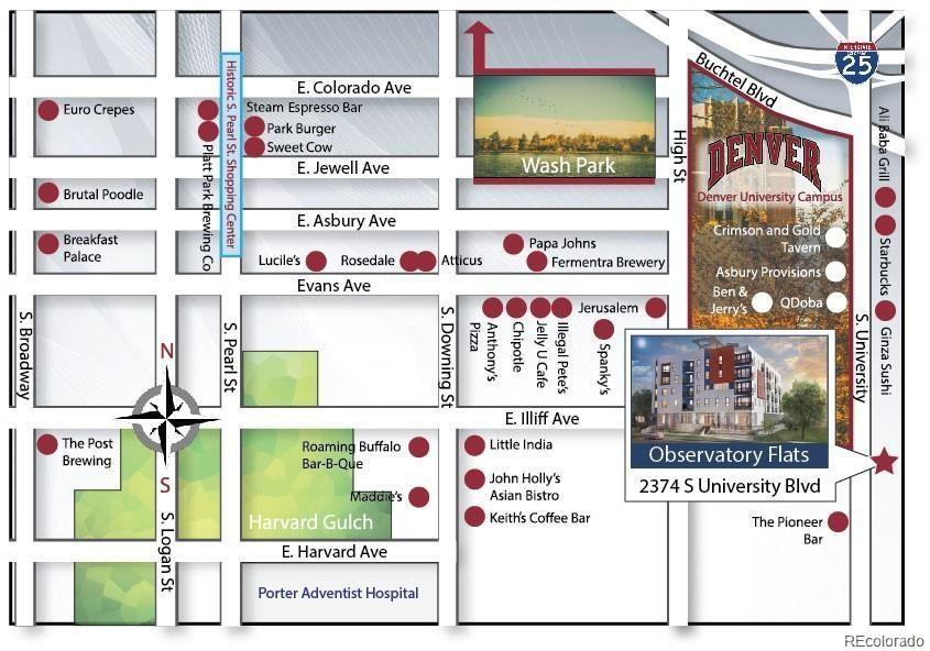 MLS# 2196884 - 14 - 2374 S University Boulevard #203, Denver, CO 80210