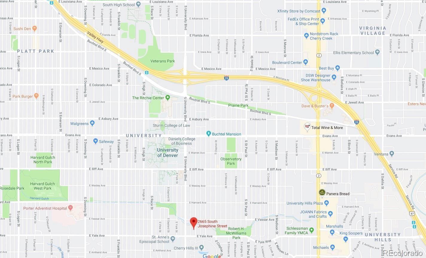 MLS# 2795033 - 24 - 2665 S Josephine Street, Denver, CO 80210