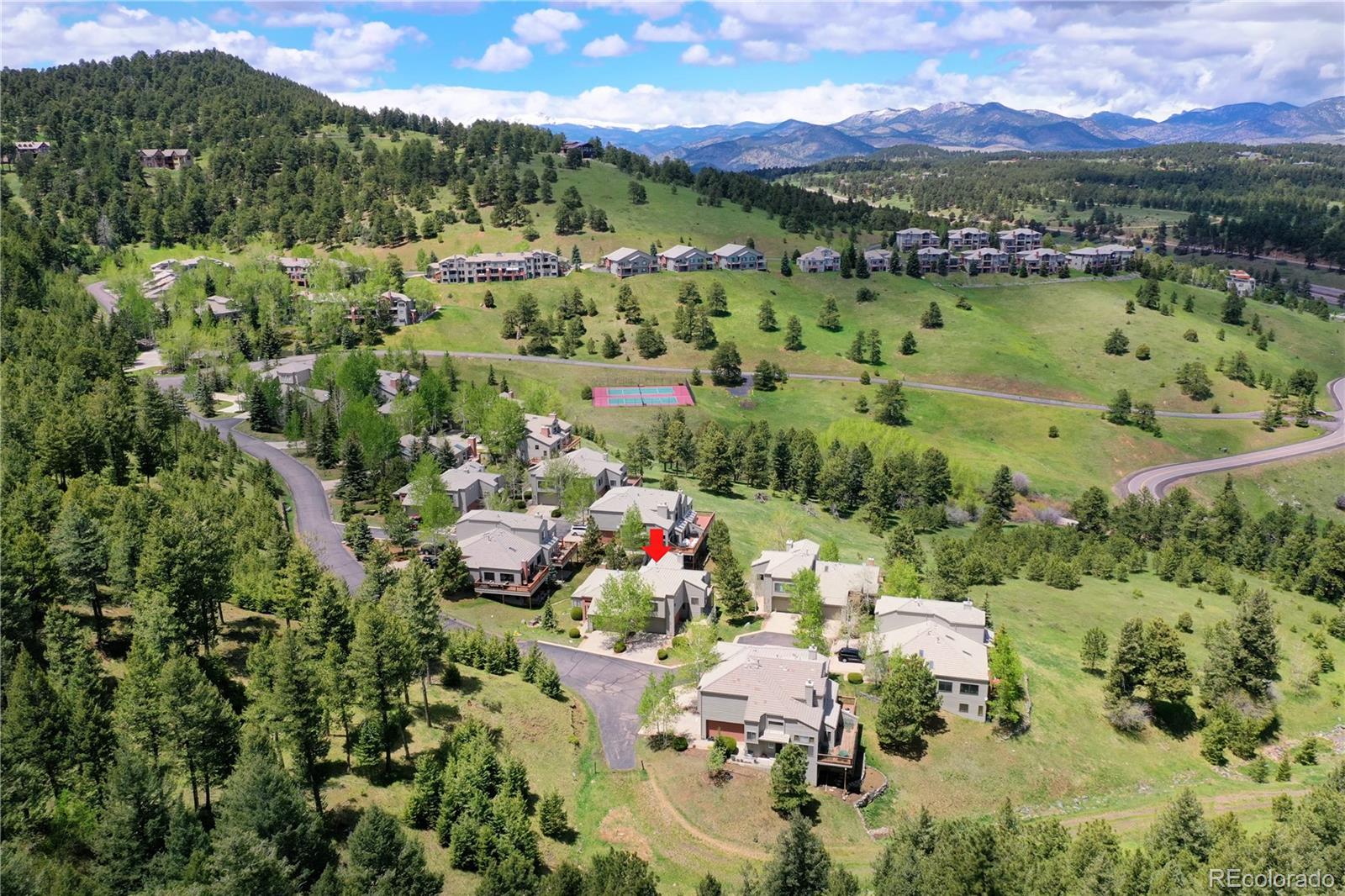 MLS# 2971781 - 34 - 784 Chimney Creek Drive #B, Golden, CO 80401