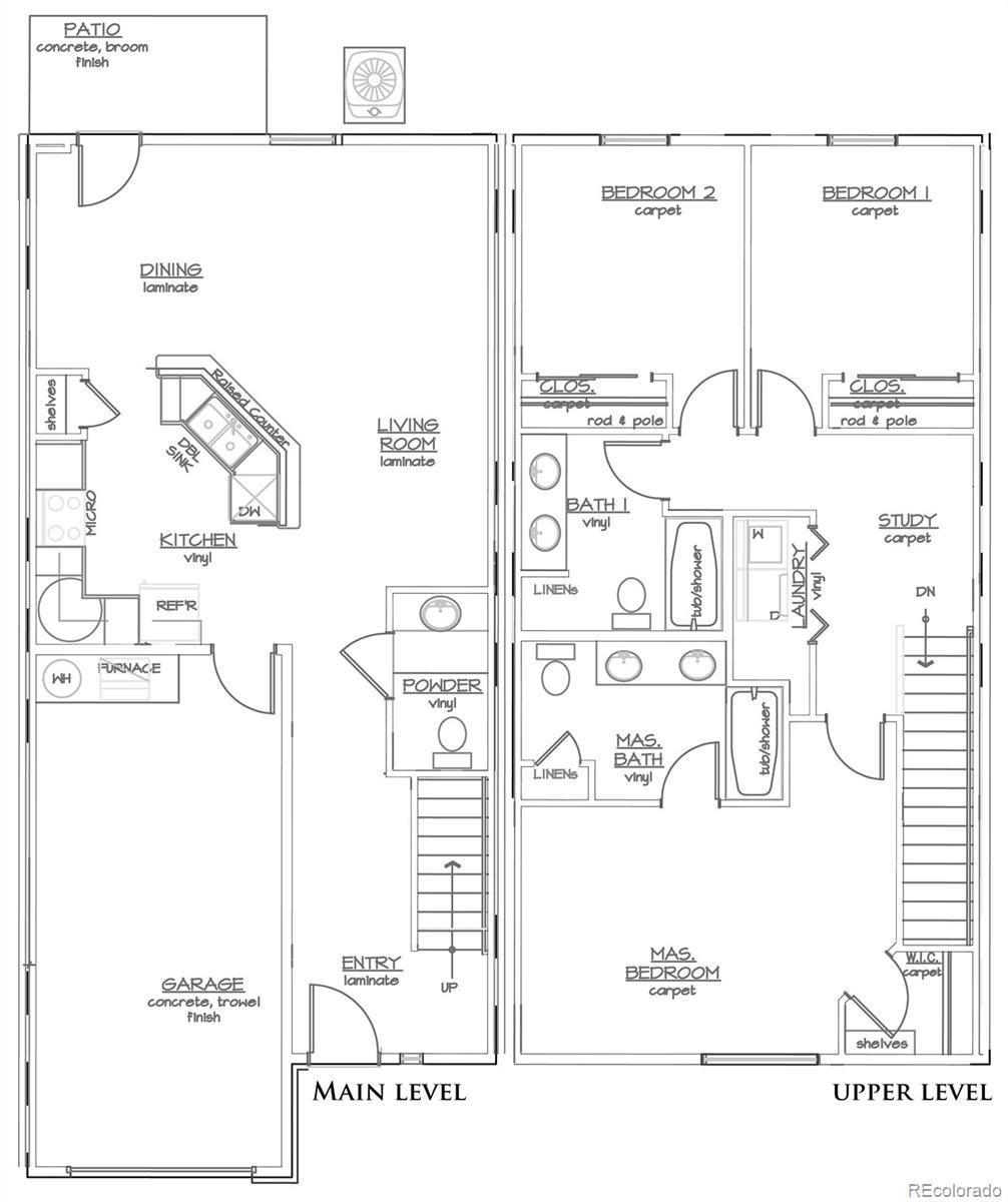 MLS# 3850447 - 2 - 613 Zenith Lane #E, Grand Junction, CO 81505