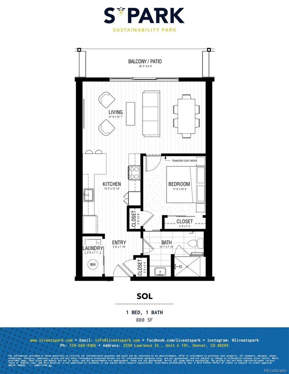 MLS# 3928589 - 1 - 2525  Arapahoe Street, Denver, CO 80205
