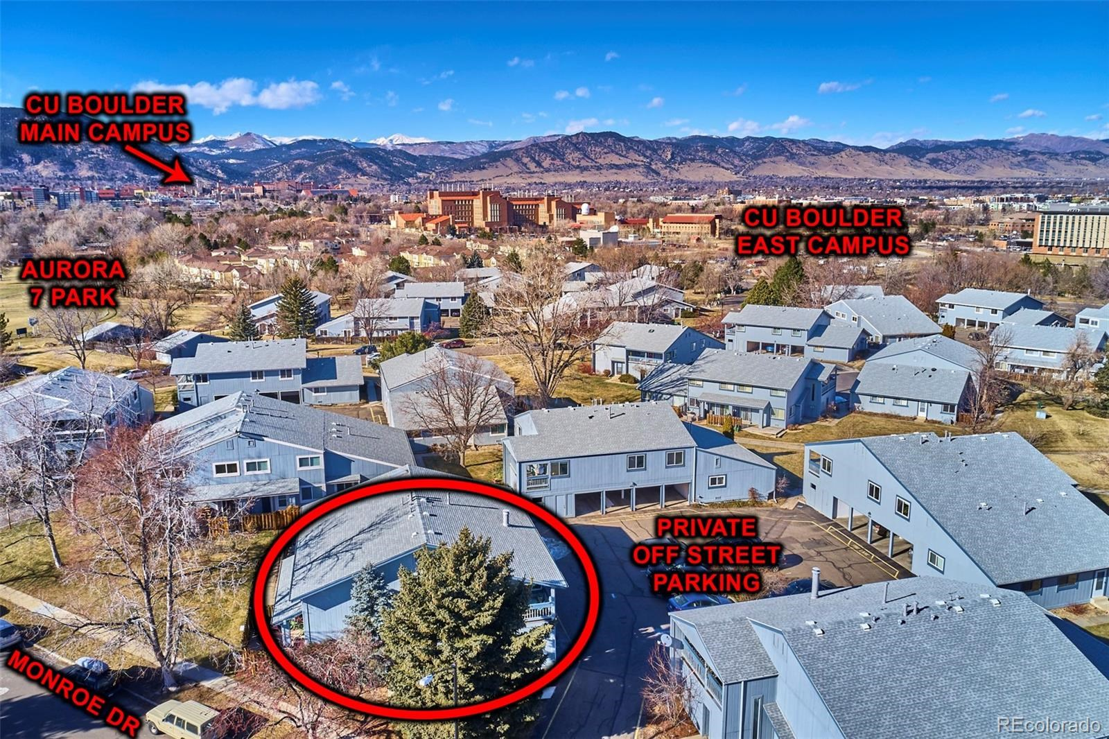 MLS# 4164486 - 20 - 4207 Monroe Drive #D, Boulder, CO 80303