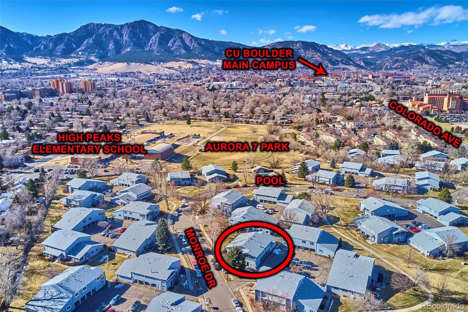 MLS# 4164486 - 22 - 4207 Monroe Drive #D, Boulder, CO 80303