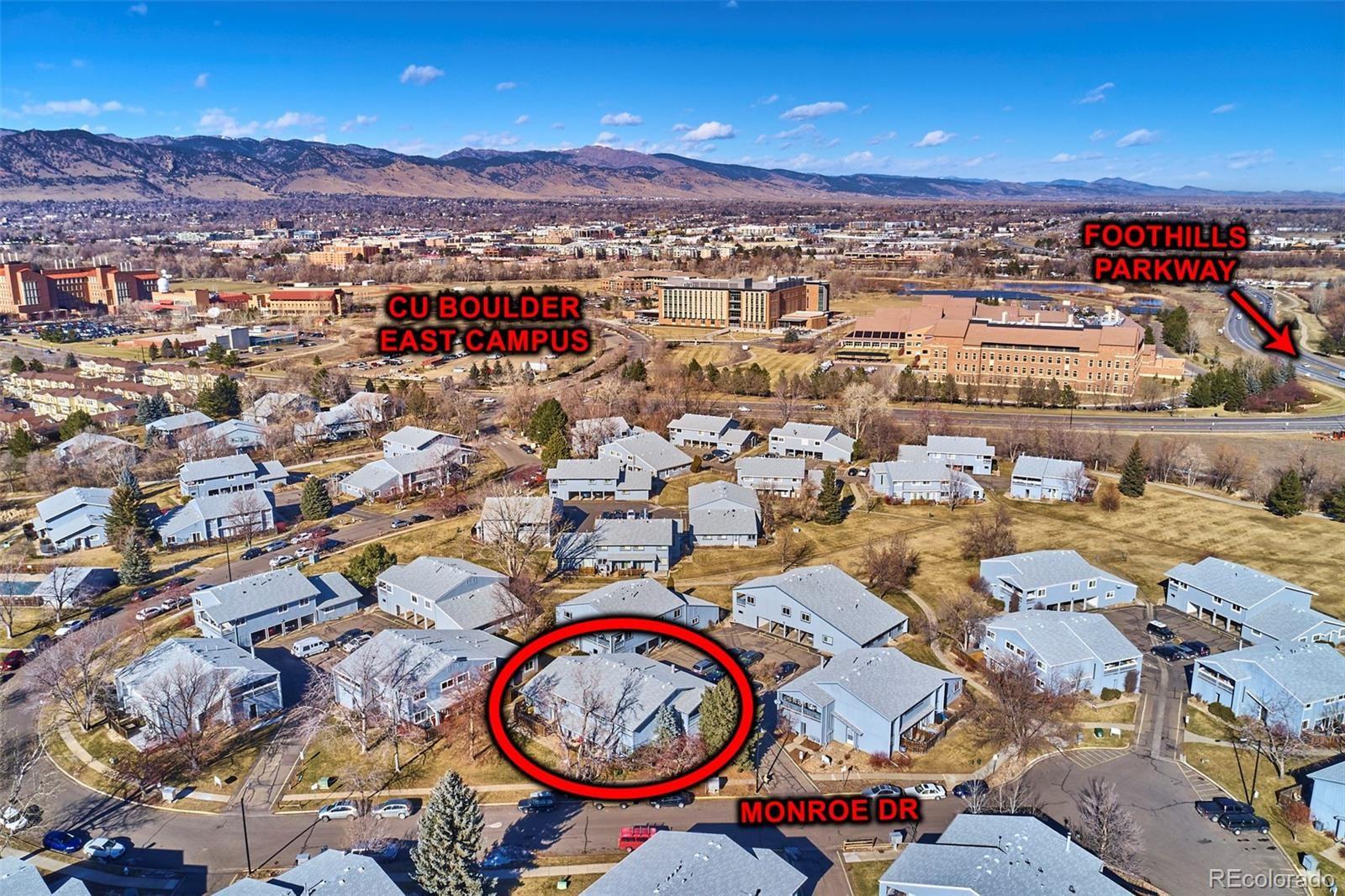 MLS# 4164486 - 25 - 4207 Monroe Drive #D, Boulder, CO 80303