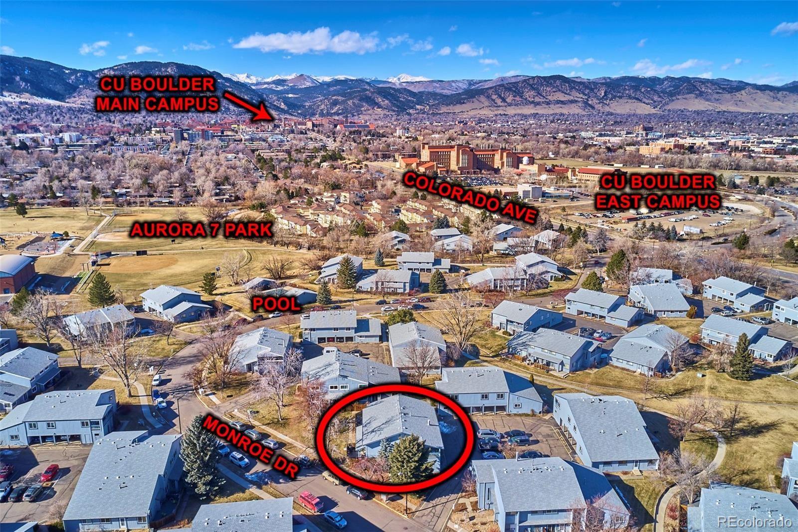 MLS# 4164486 - 4 - 4207 Monroe Drive #D, Boulder, CO 80303
