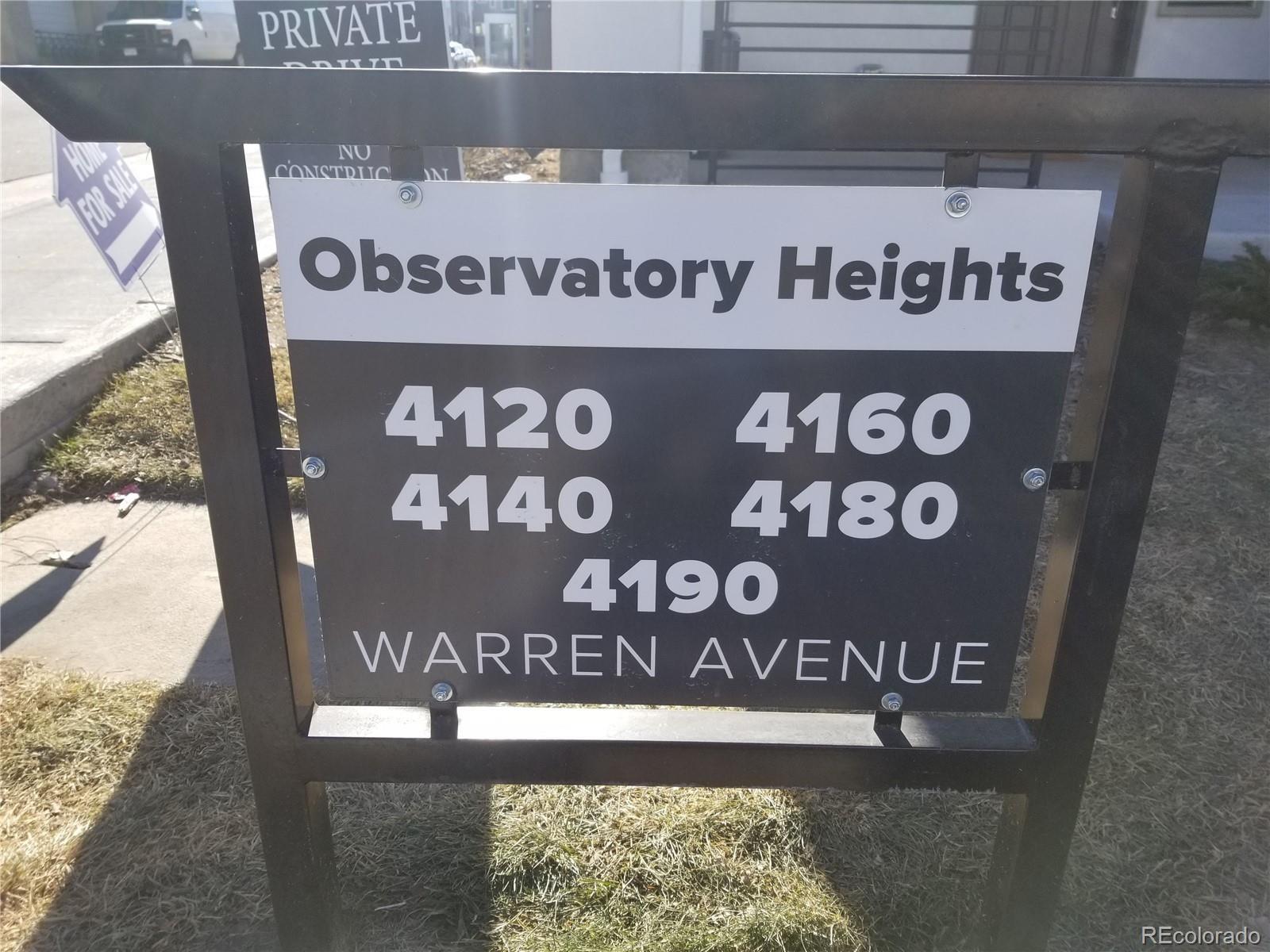 MLS# 4444736 - 28 - 4160 E Warren Avenue #6, Denver, CO 80222