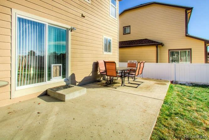 MLS# 4771871 - 33 - 3423 Riesling Court, Evans, CO 80634
