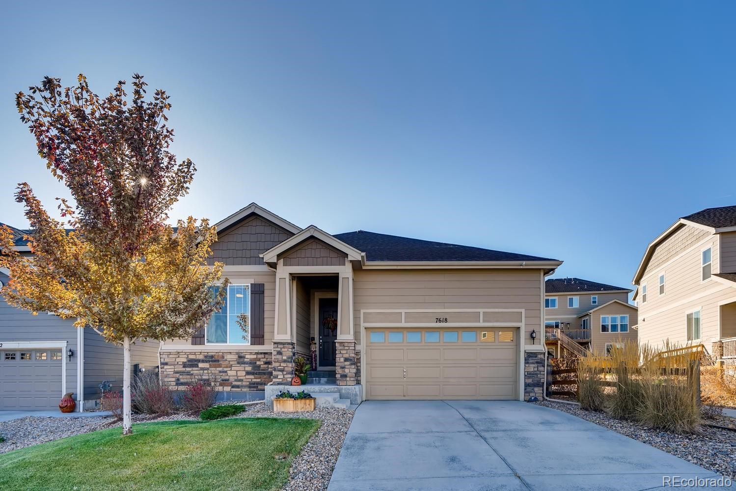 MLS# 5328275 - 7618 Blue Water Lane, Castle Rock, CO 80108