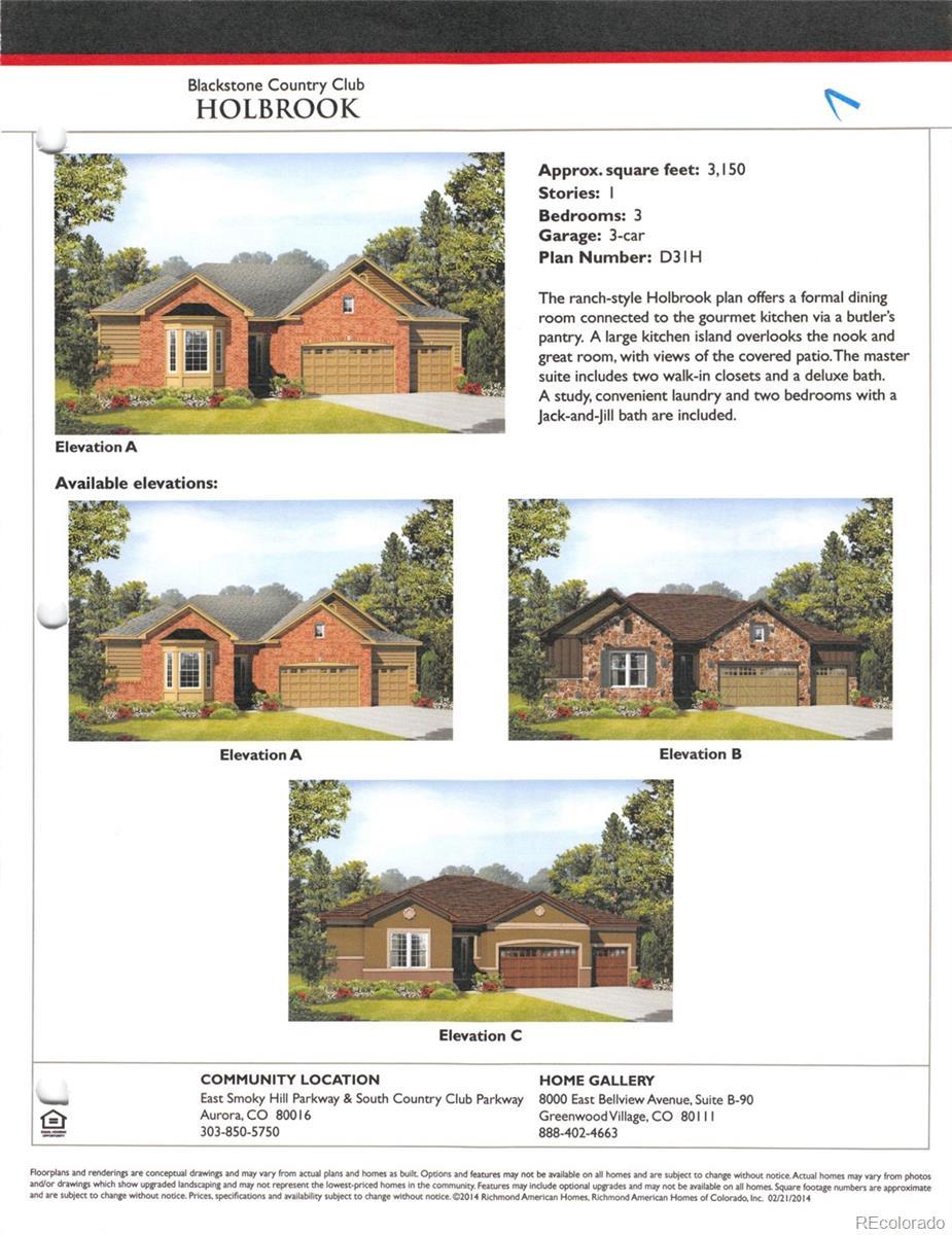 MLS# 5937516 - 1 - 27655  E Moraine Drive, Aurora, CO 80016