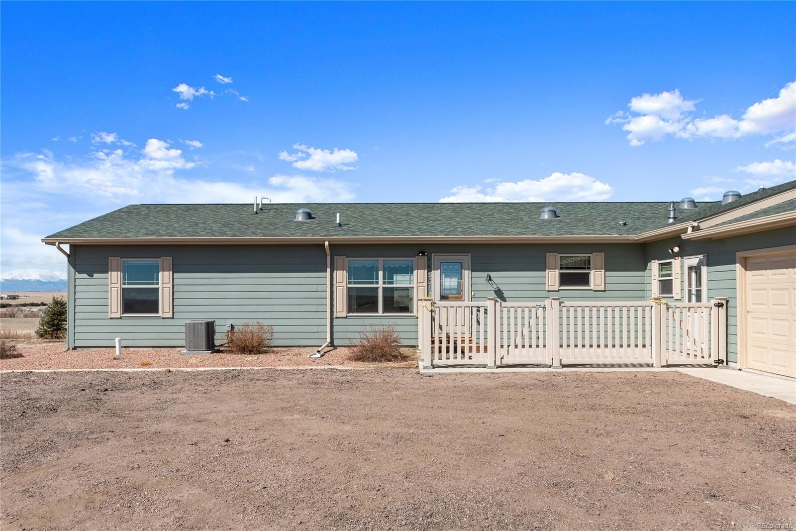 MLS# 6452217 - 1 - 14640  Wagon Trail, Peyton, CO 80831