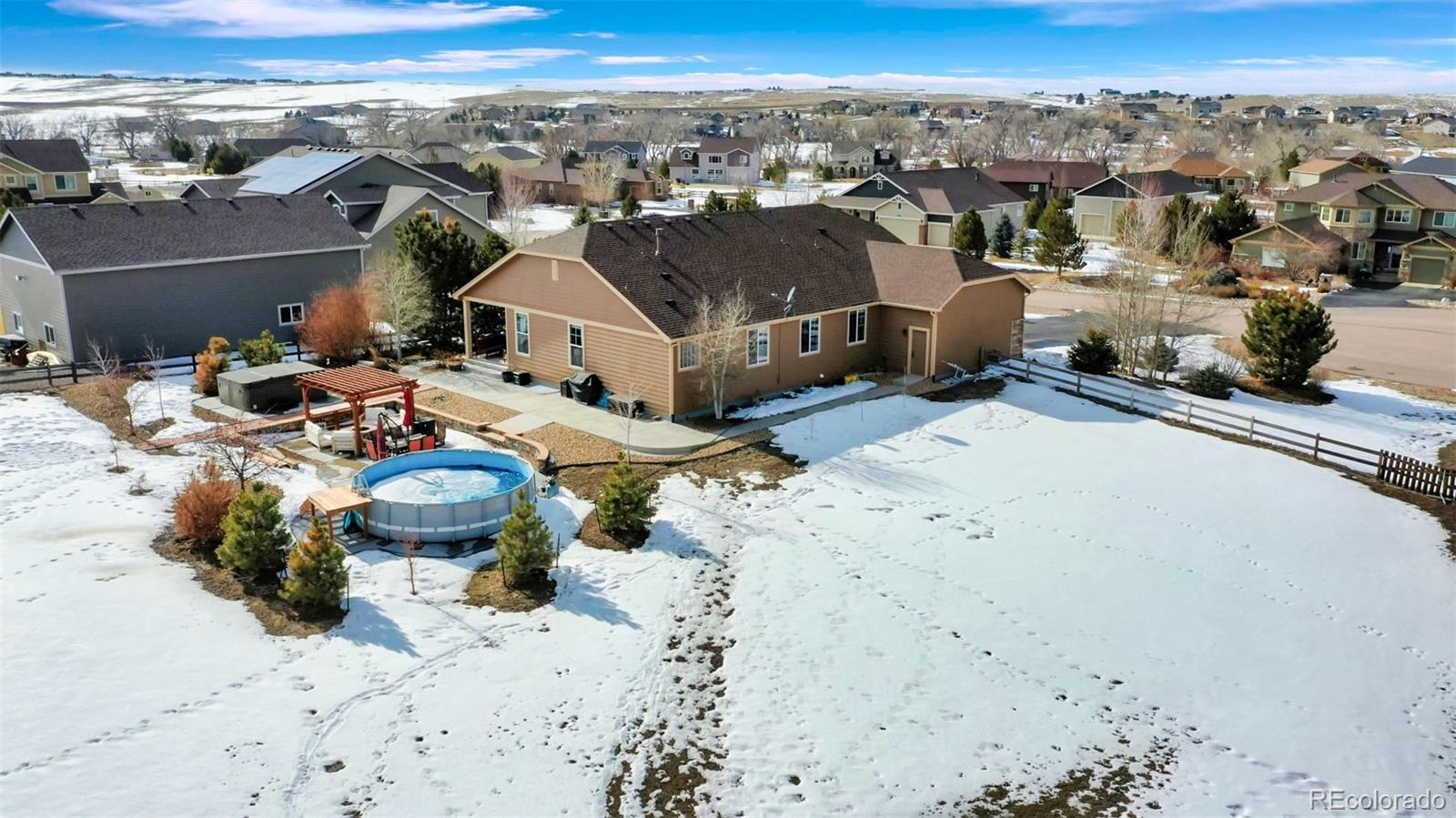 MLS# 6669287 - 31 - 5120 Laurel Valley Circle, Elizabeth, CO 80107