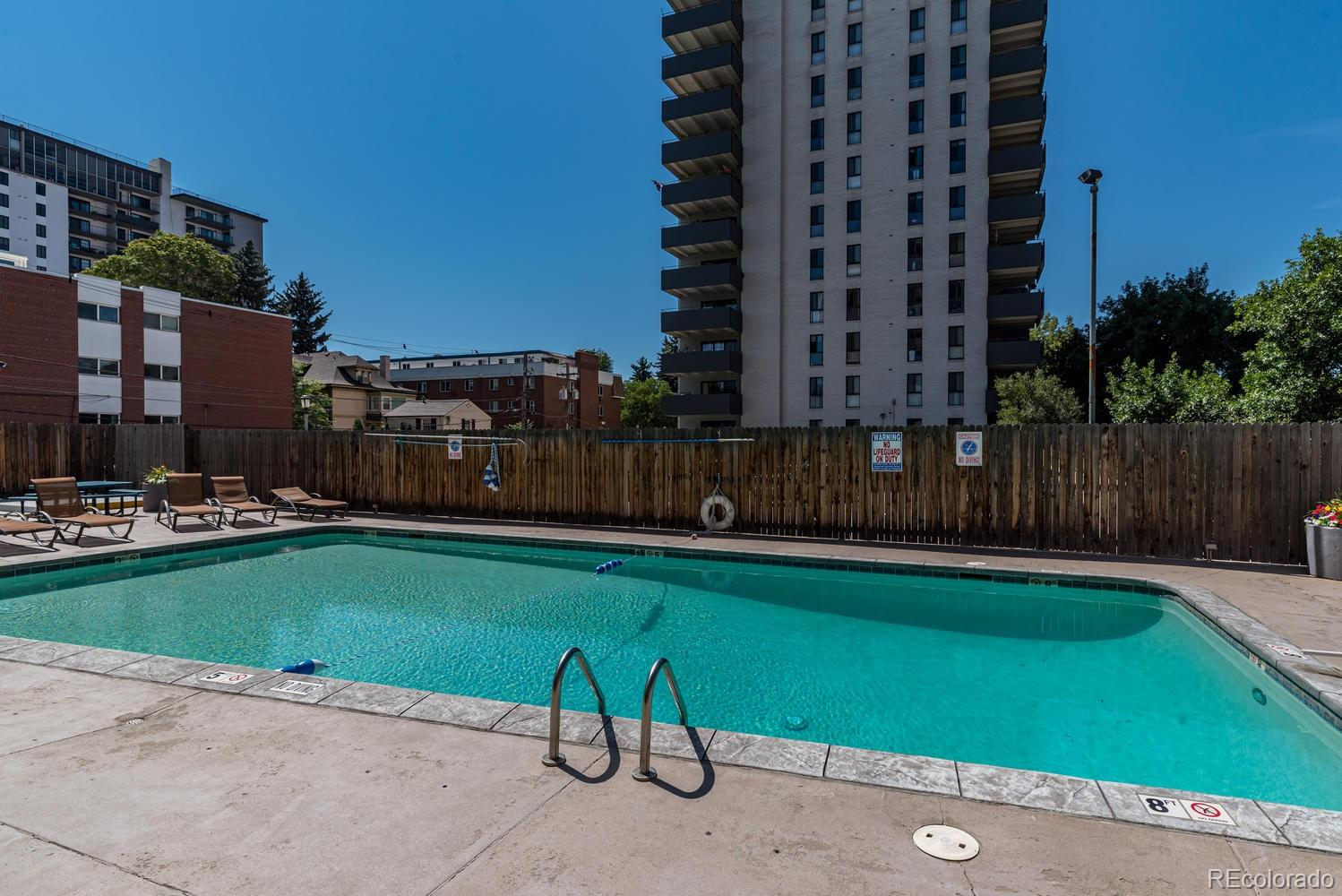 MLS# 6692685 - 888 N Logan Street #11F, Denver, CO 80203