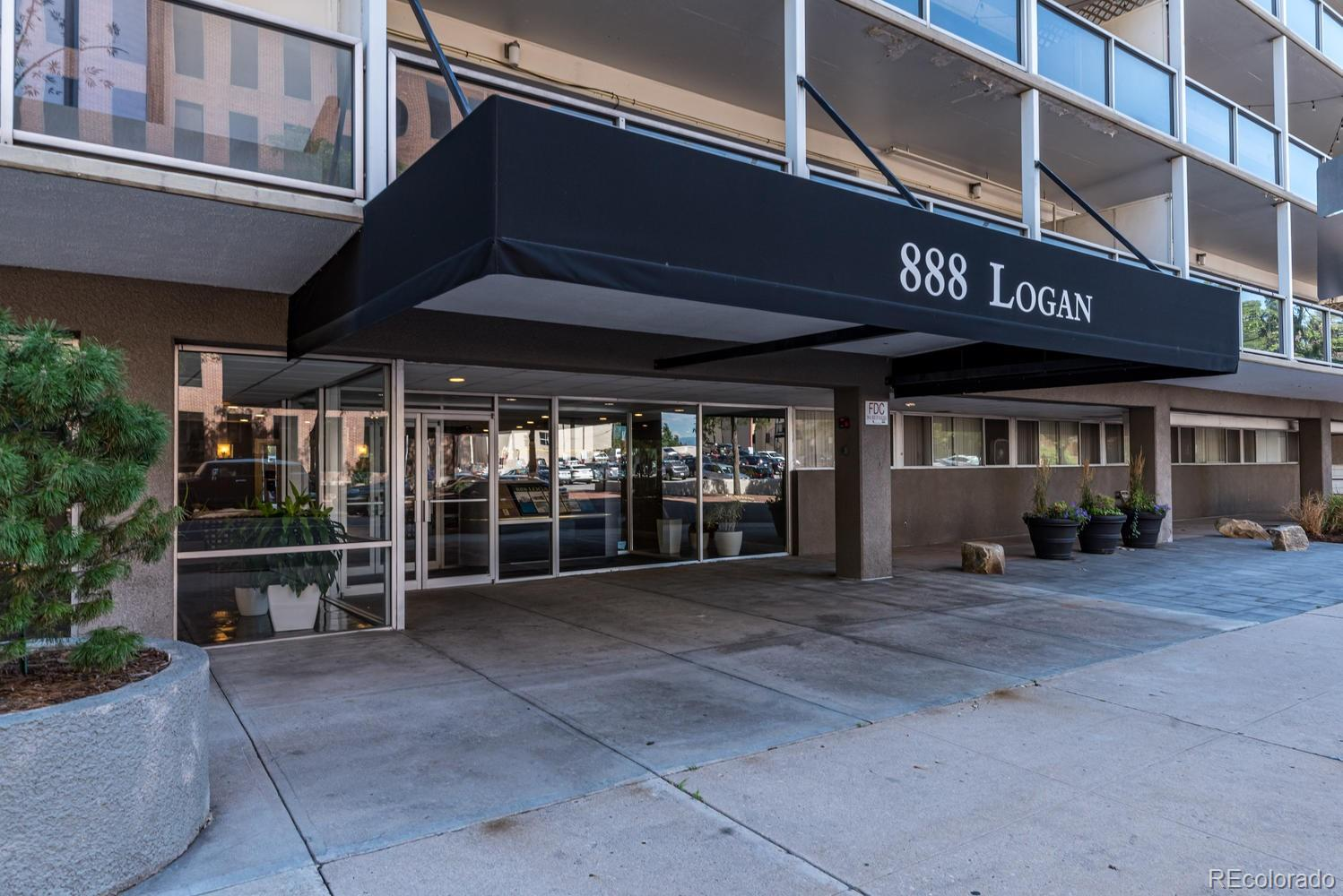 MLS# 6692685 - 33 - 888 N Logan Street #11F, Denver, CO 80203