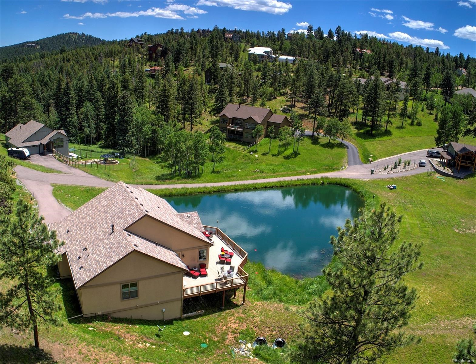MLS# 7168913 - 34 - 6451 Mohave Trail, Evergreen, CO 80439