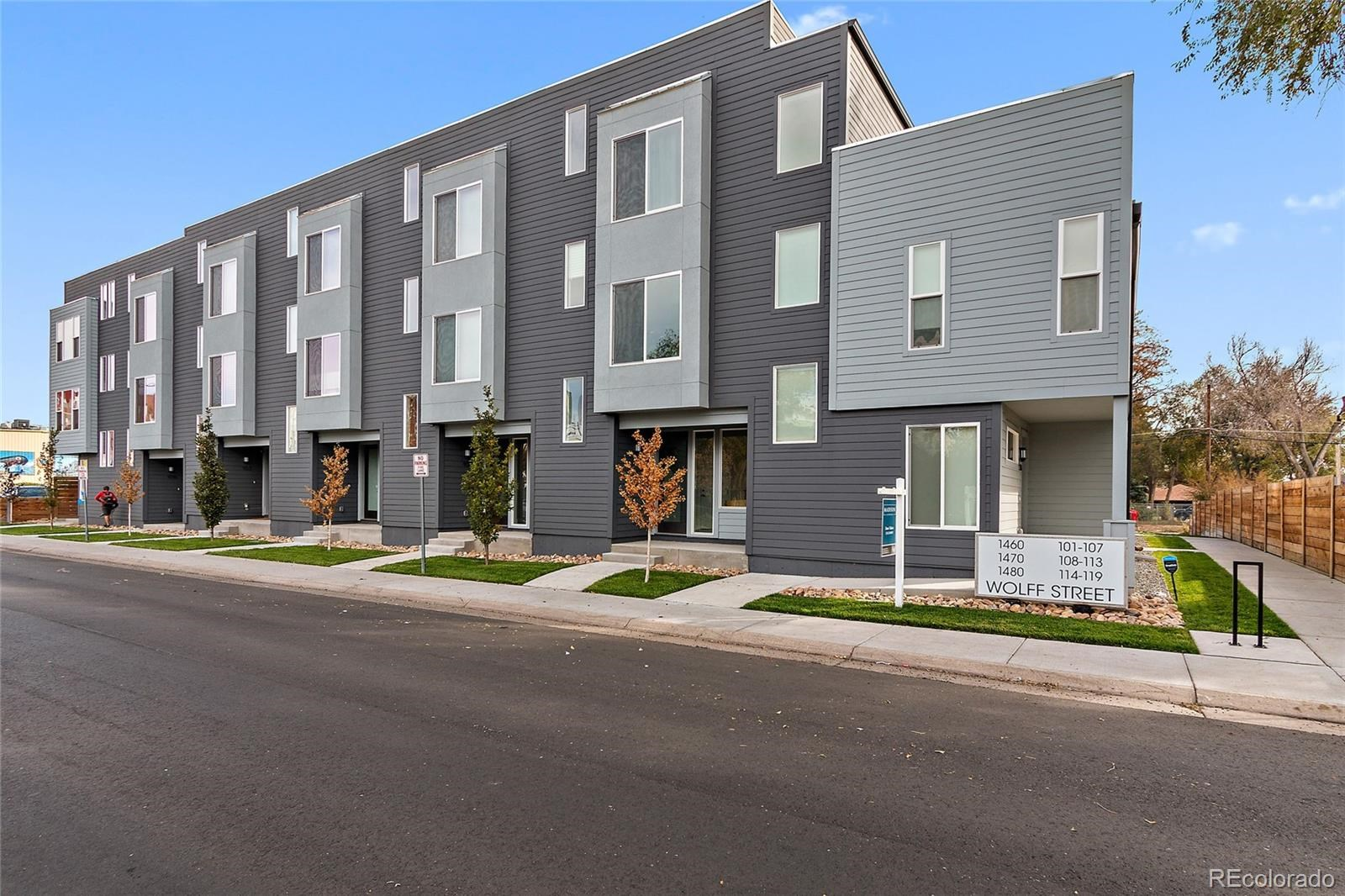 MLS# 7807225 - 3 - 1480 Wolff Street #114, Denver, CO 80204