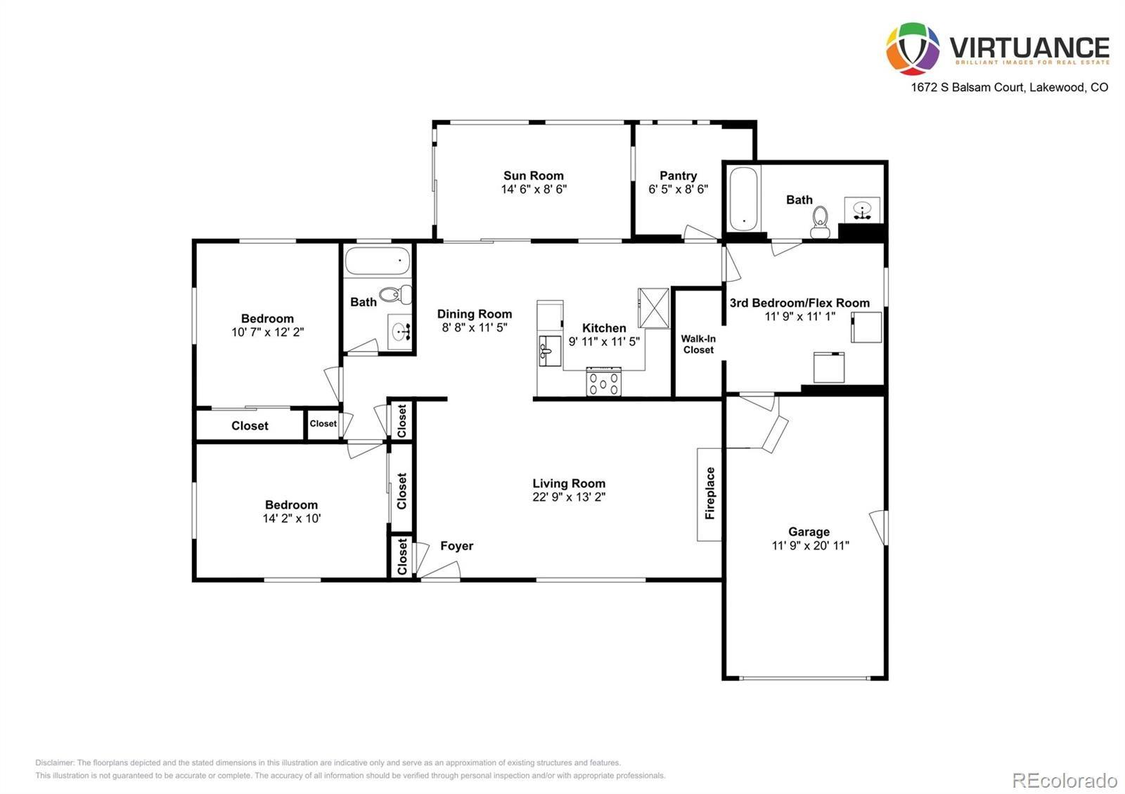 MLS# 7895314 - 2 - 1672 S Balsam Court, Lakewood, CO 80232