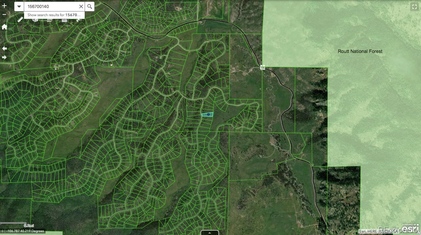 MLS# 8100803 - 5 - Lot 140 Halter Trail , Oak Creek, CO 80467