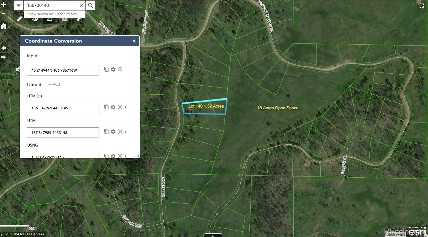 MLS# 8100803 - 6 - Lot 140 Halter Trail , Oak Creek, CO 80467