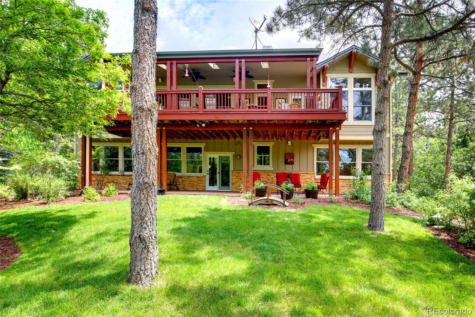 MLS# 8150320 - 31 - 1198 Forest Trails Drive, Castle Pines, CO 80108