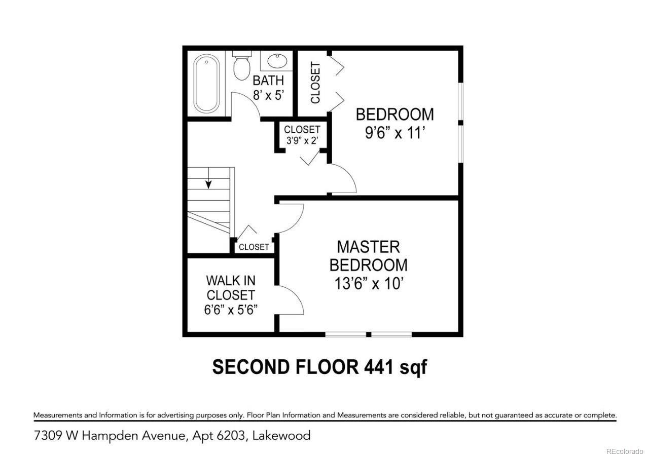MLS# 8240620 - 18 - 7309 W Hampden Avenue #6203, Lakewood, CO 80227