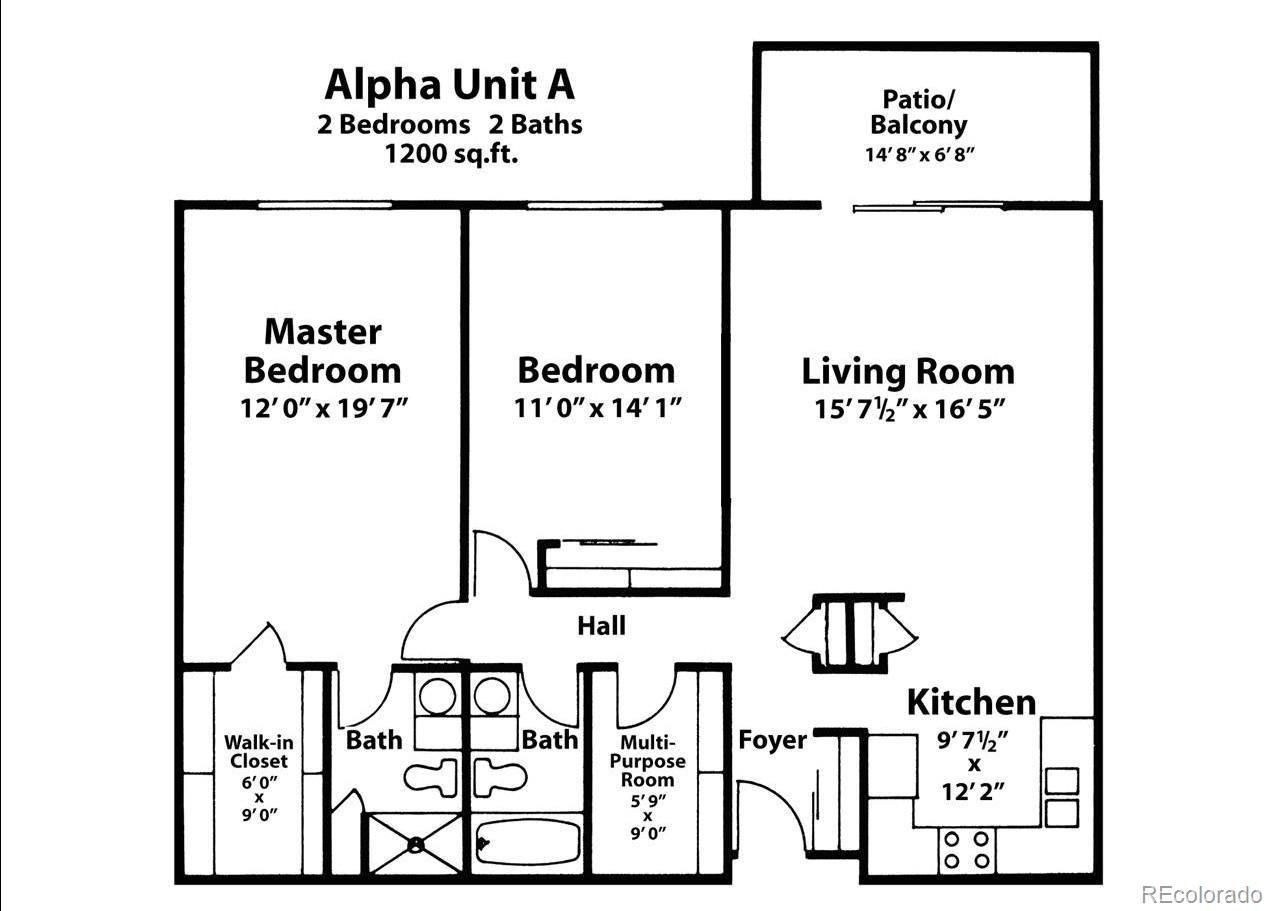 MLS# 8258925 - 20 - 13635 E Bates Avenue #207, Aurora, CO 80014