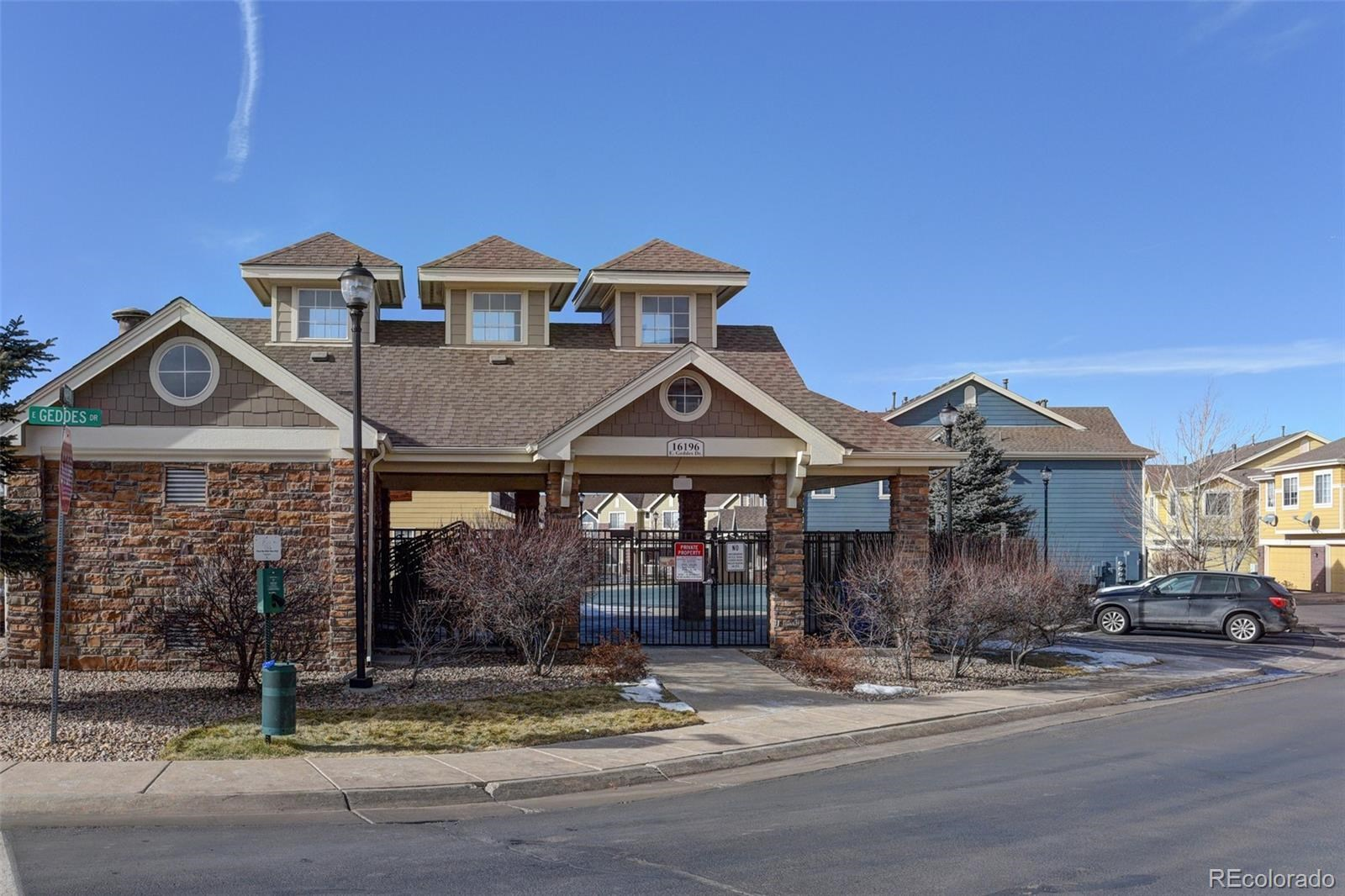 MLS# 8305054 - 24 - 16031 E Geddes Drive #62, Aurora, CO 80016