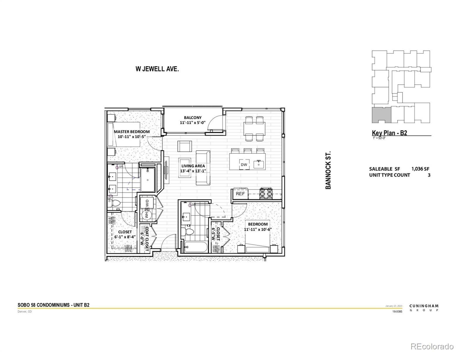 MLS# 8305602 - 2 - 1898 S Bannock Street #404, Denver, CO 80223