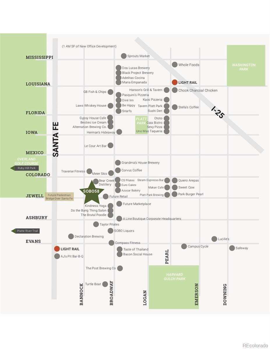 MLS# 8305602 - 5 - 1898 S Bannock Street #404, Denver, CO 80223