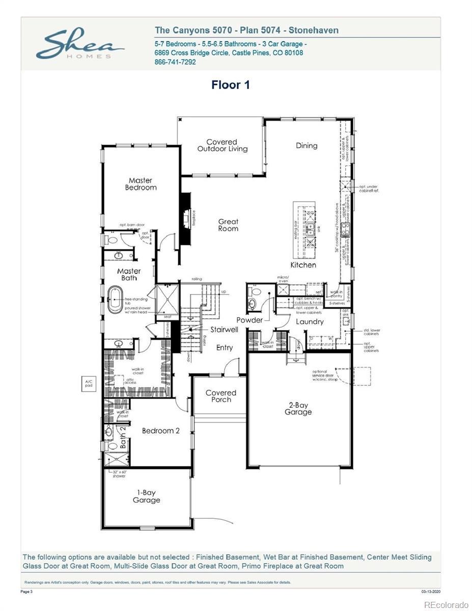 MLS# 8448343 - 2 - 7189 Copper Sky Circle, Castle Pines, CO 80108