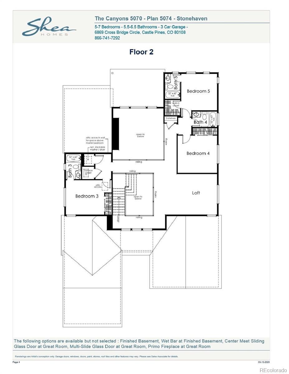 MLS# 8448343 - 3 - 7189 Copper Sky Circle, Castle Pines, CO 80108