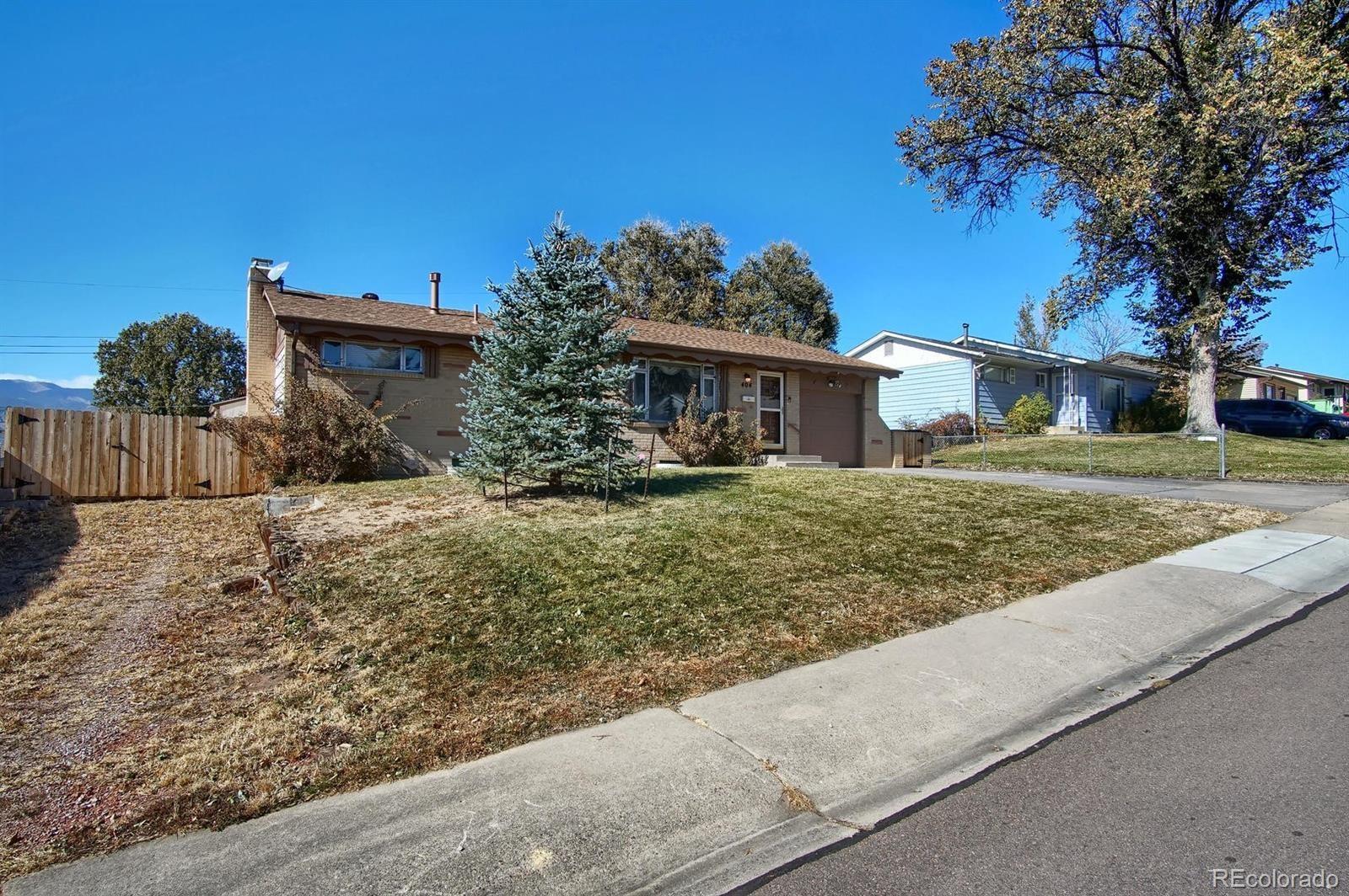 MLS# 8497805 - 1 - 404  Rose Drive, Colorado Springs, CO 80911